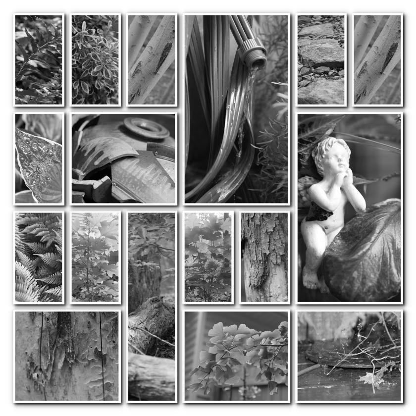 2 B&W Collage