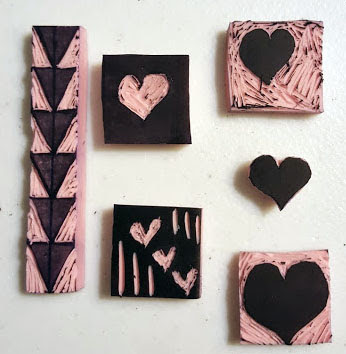 Hearts and Arrow stamp[3]